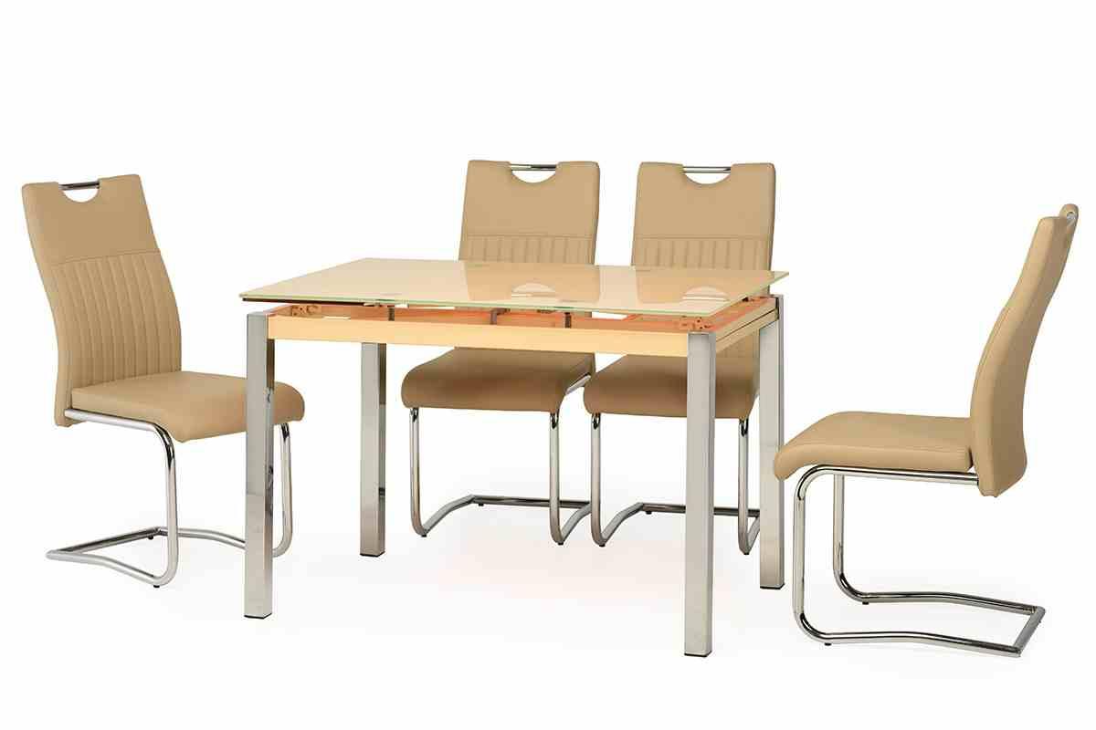 Обідній стіл T-231 кремовий 0