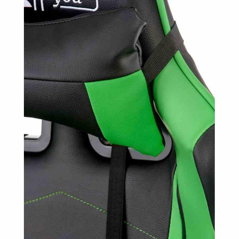 Крісло ExtremeRace black/green 10