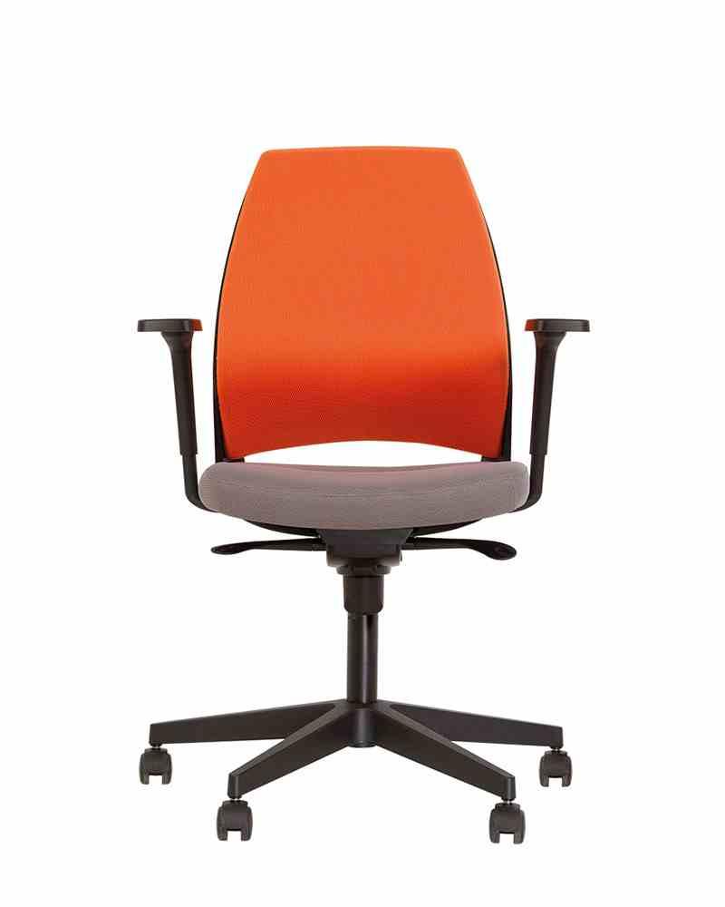 Крісло офісне 4U R 3D black ES PL70 з Синхромеханізмом 0