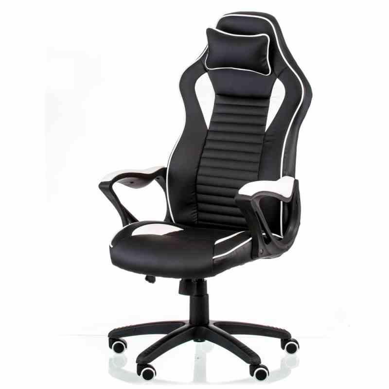 Крісло Nero Black/White 14