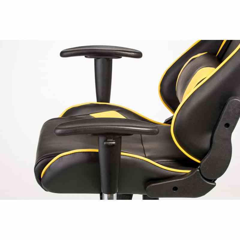 Крісло ExtremeRace black / yellow 7