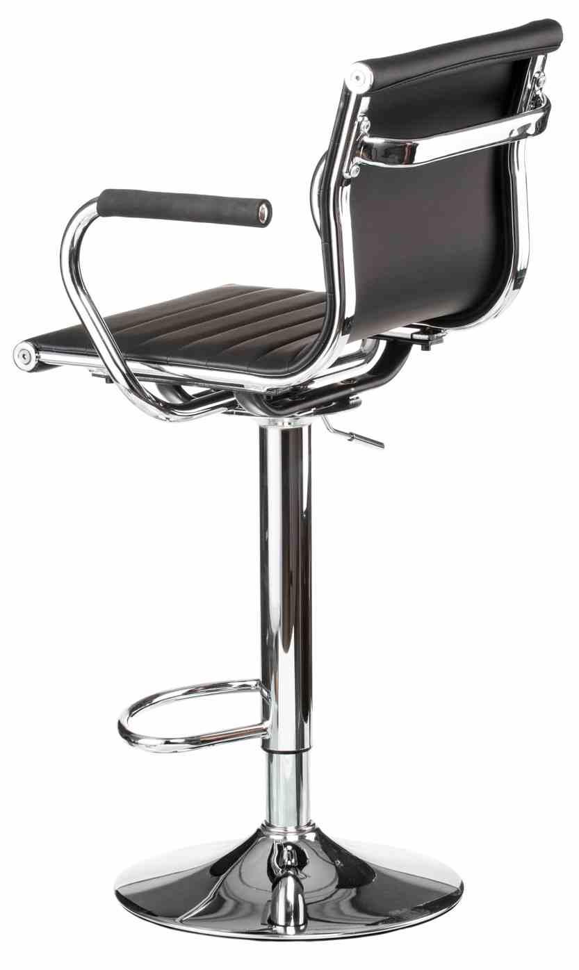 Барний стілець Bar black platе 2