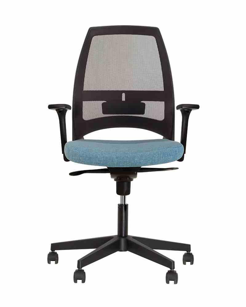 Крісло офісне 4U R 3D net black ES PL70 з «Синхромеханiзмом» 1