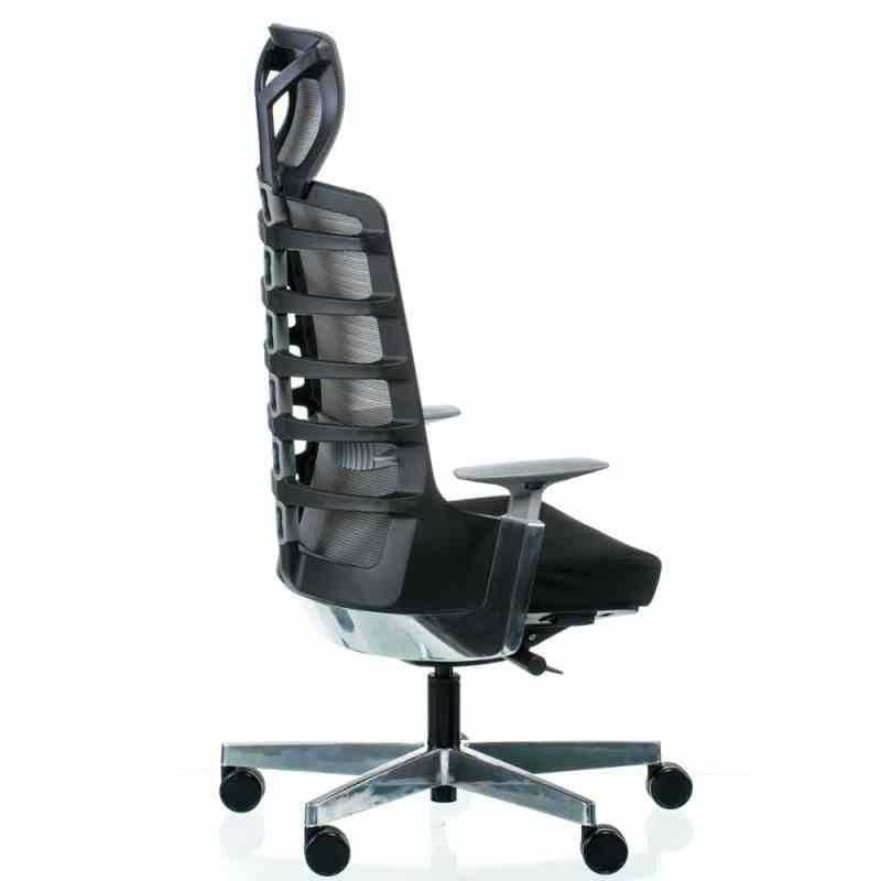 Крісло SPINELLY BLACK/METALLIC 3