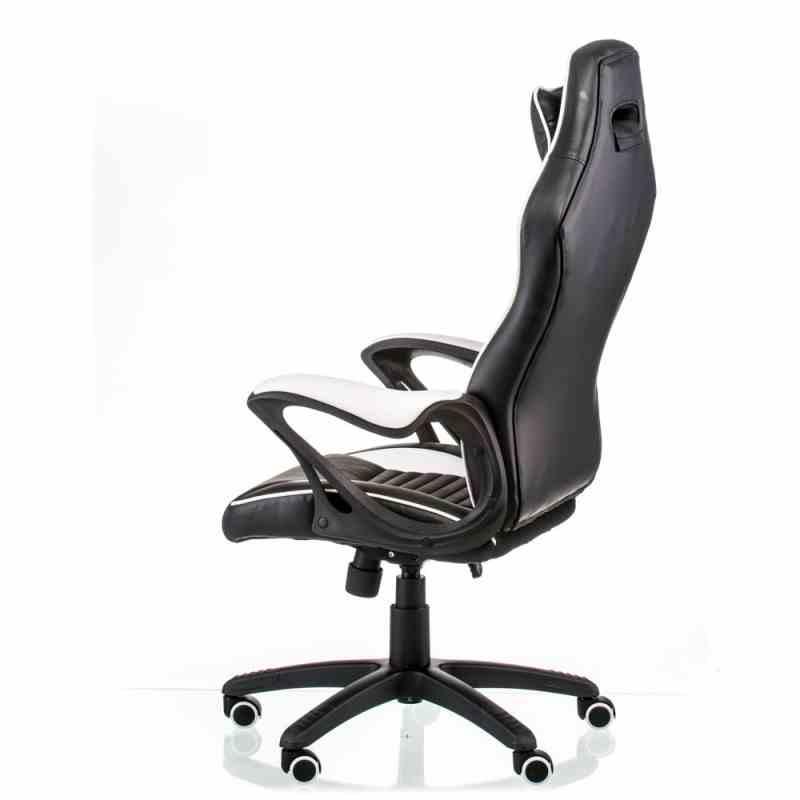 Крісло Nero Black/White 2