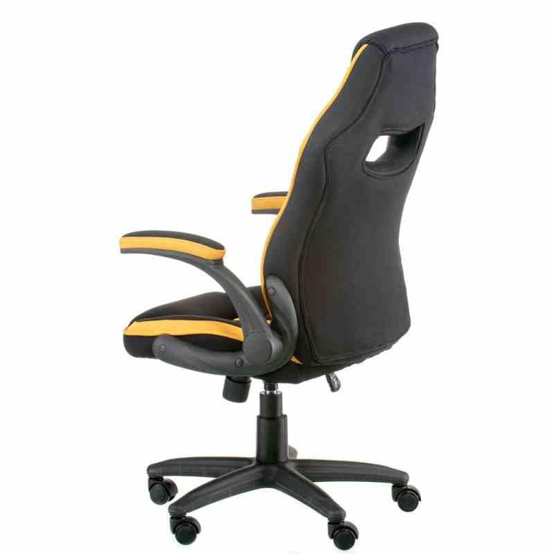Крісло Prime black/yellow 2