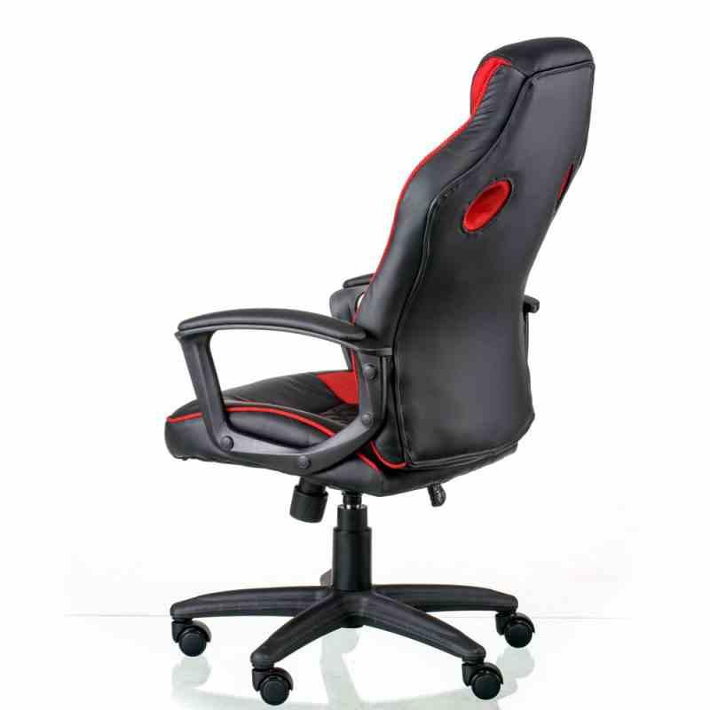Крісло Mezzo Black/Red 2