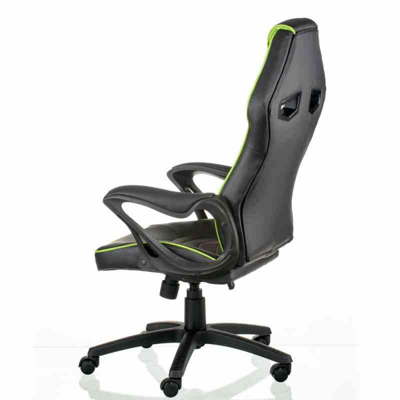Крісло Nitro Black/Green 2