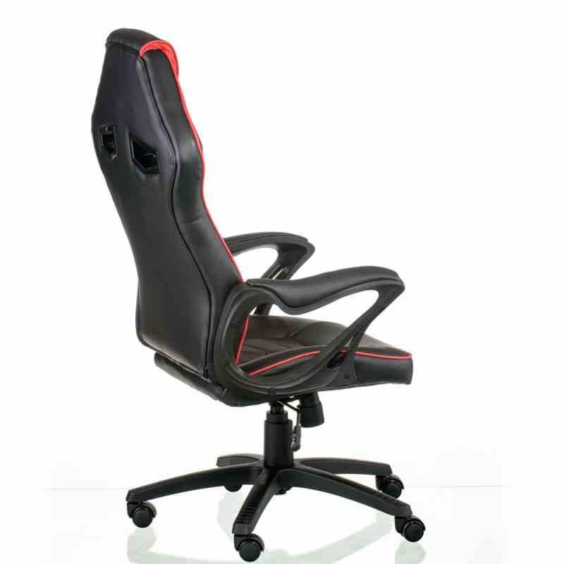 Крісло Nitro Black/Red 2
