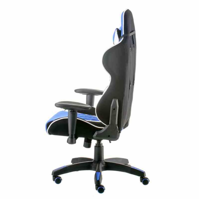 Крісло ExtremeRace 3 black/blue 2