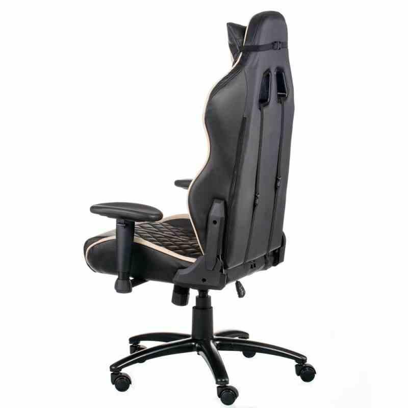 Крісло ExtremeRace Black/Cream 2
