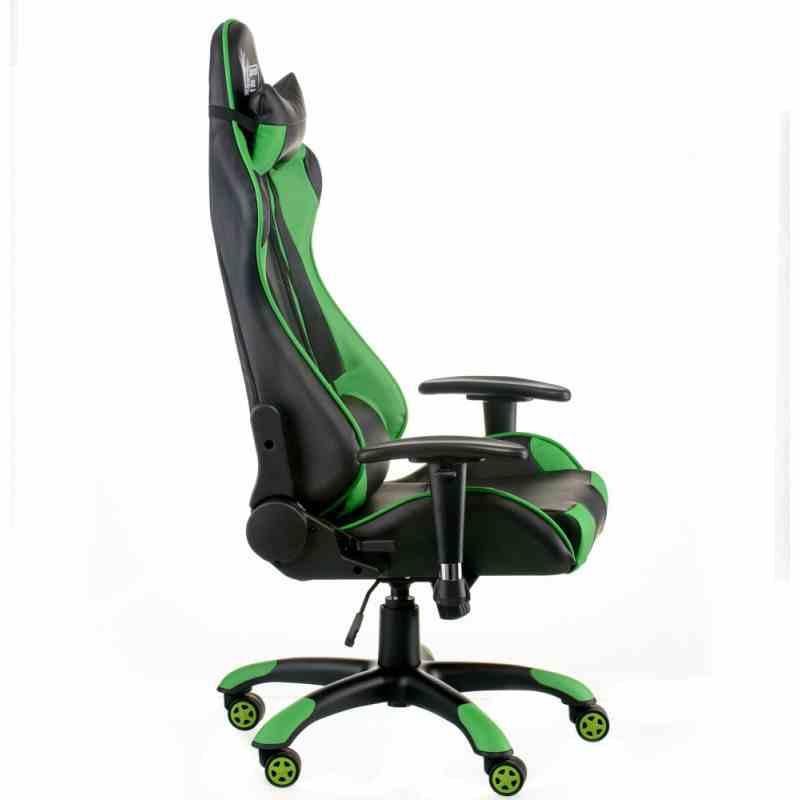 Крісло ExtremeRace black/green 1