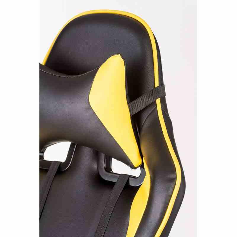 Крісло ExtremeRace black / yellow 5