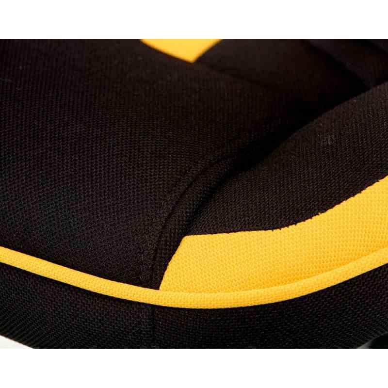 Крісло Prime black/yellow 6