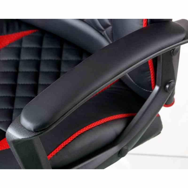 Крісло Mezzo Black/Red 6