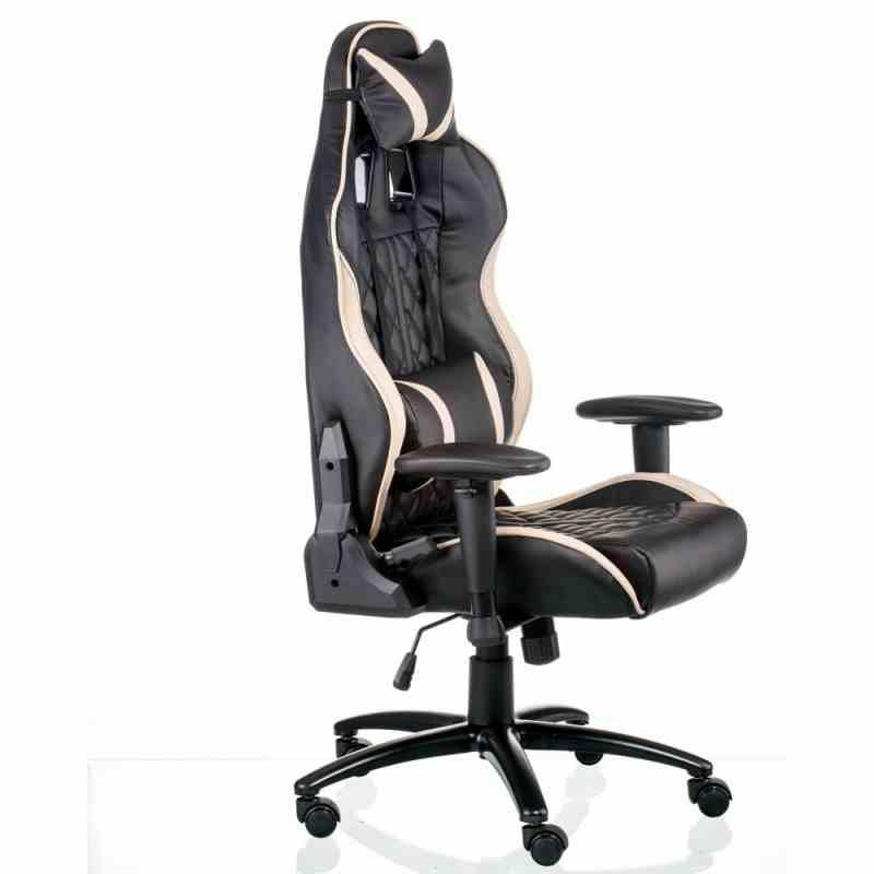 Крісло ExtremeRace Black/Cream 6