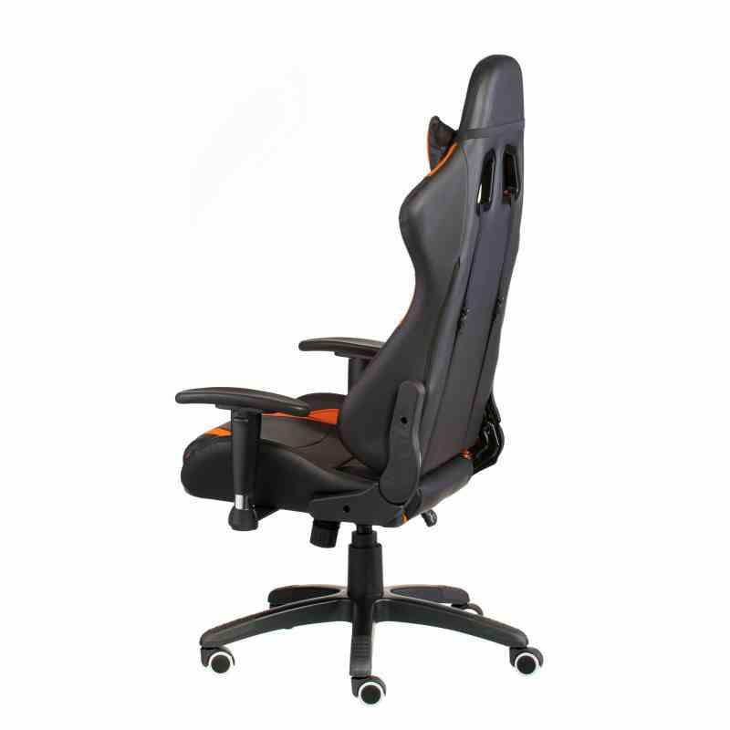 Крісло ExtremeRace black/orange 2