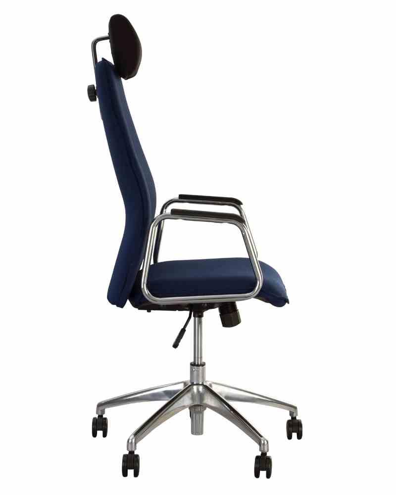 Крісло SOLO HR steel SL AL70 з «Синхромеханiзмом» 1
