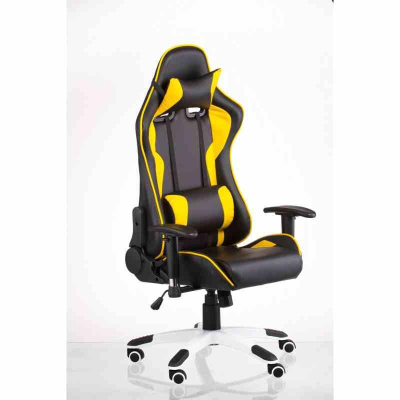 Крісло ExtremeRace black / yellow 12