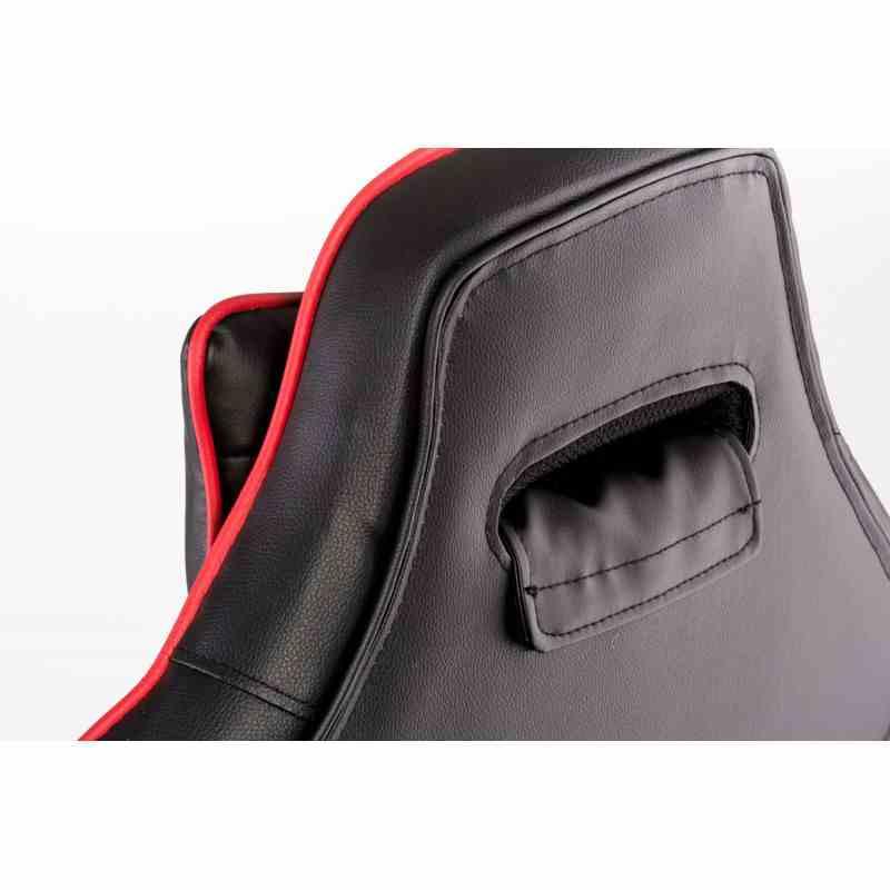 Крісло Nero Black/Red 9