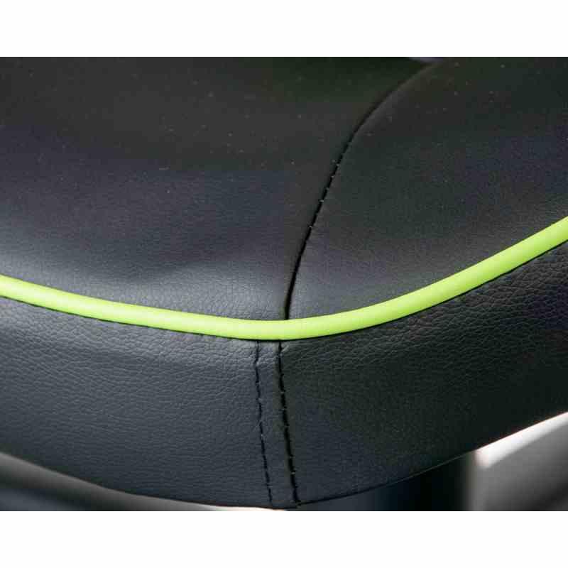 Крісло Nitro Black/Green 9