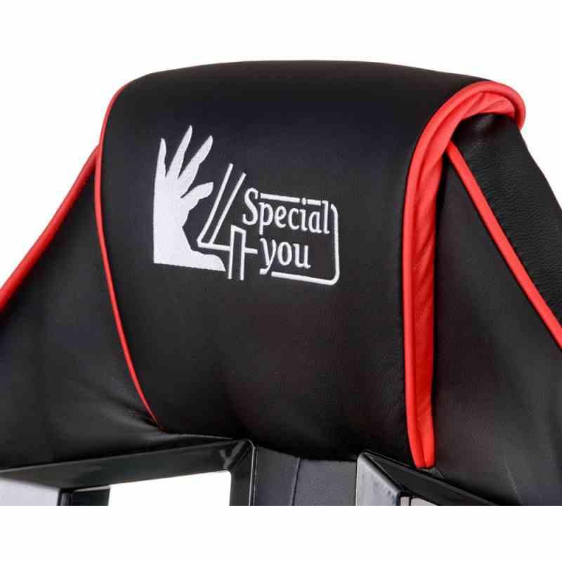 Крісло Nitro Black/Red 9