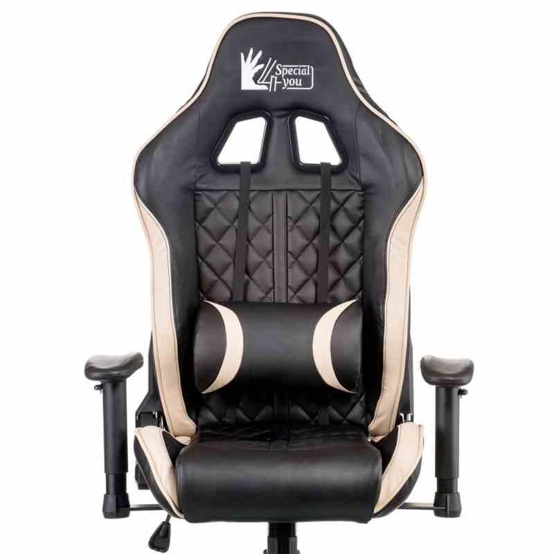 Крісло ExtremeRace Black/Cream 9
