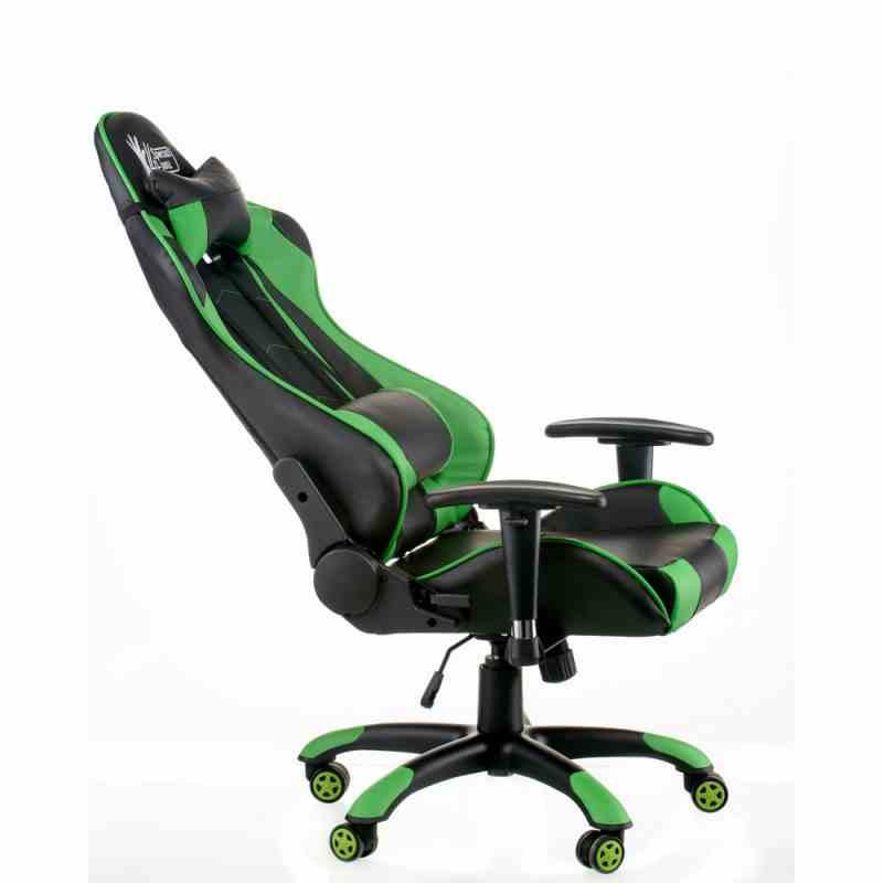 Крісло ExtremeRace black/green 8