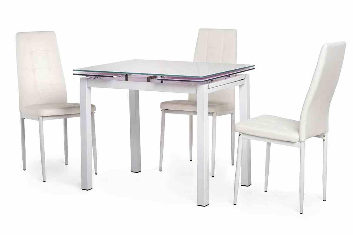 Обідній стіл T-231-8 білий 2