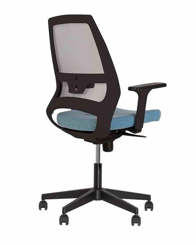Крісло офісне 4U R 3D net black ES PL70 з «Синхромеханiзмом» 0