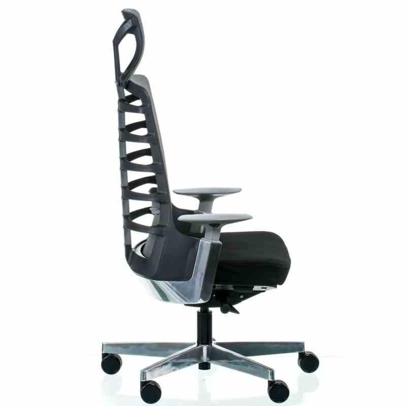 Крісло SPINELLY BLACK/METALLIC 1