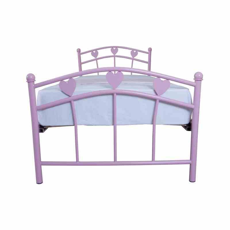 Дитяче односпальне ліжко Eagle MARLENA 900х2000 pink 1