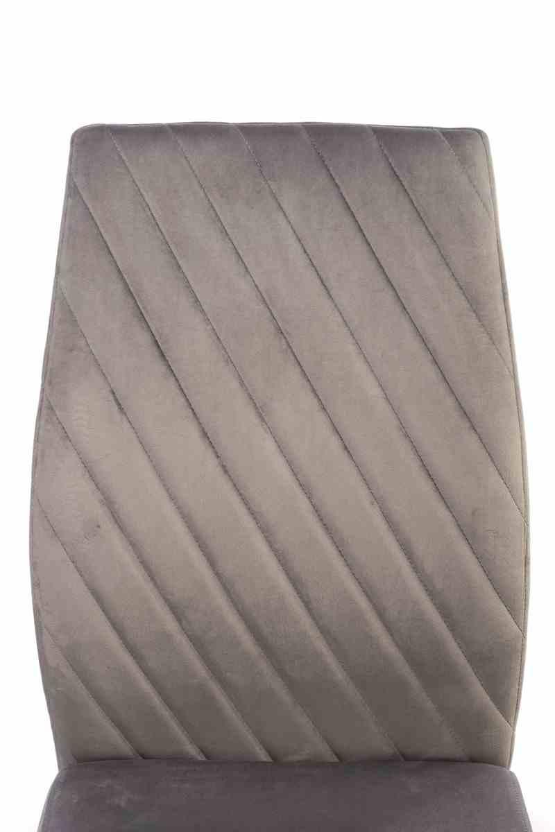 Стілець S-118 сірий вельвет 3