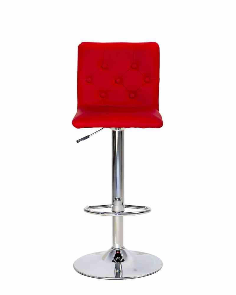 Барний стілець RUBY hoker chrome 1