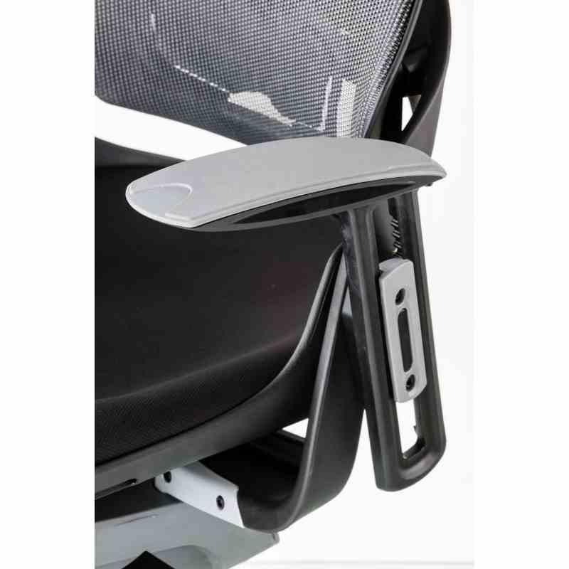 Крісло WAU BLACK FABRIC, CHARCOAL NETWORK 6