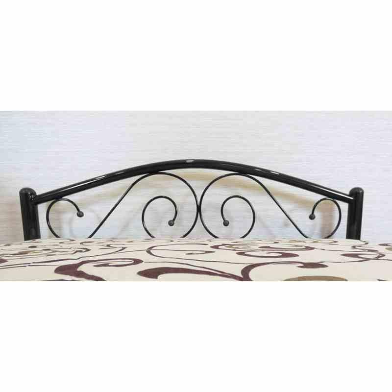 Ліжко POLO 900x2000 black 1