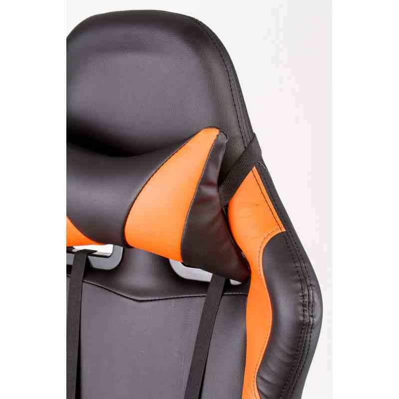 Крісло ExtremeRace black/orange 6