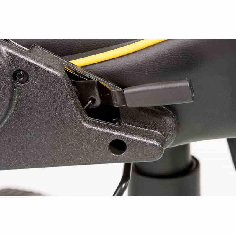 Крісло ExtremeRace black / yellow 9