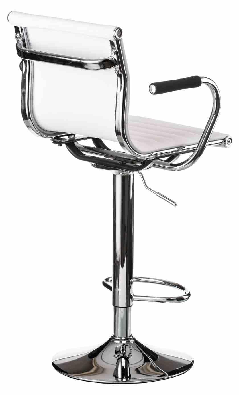 Барний стілець Bar whitе platе 1