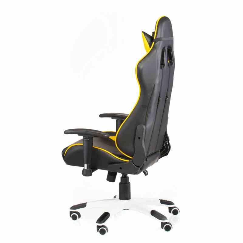 Крісло ExtremeRace black / yellow 3