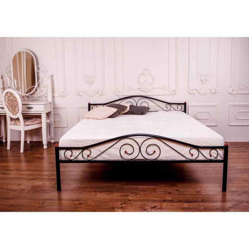 Ліжко POLO 1600x2000 black 3