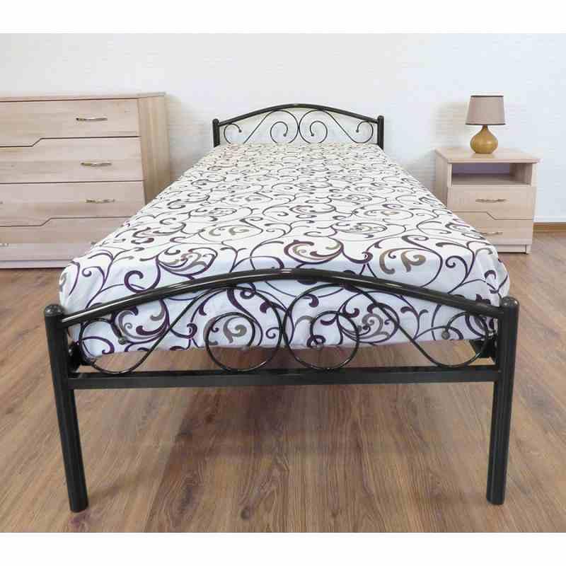 Ліжко POLO 900x2000 black 5