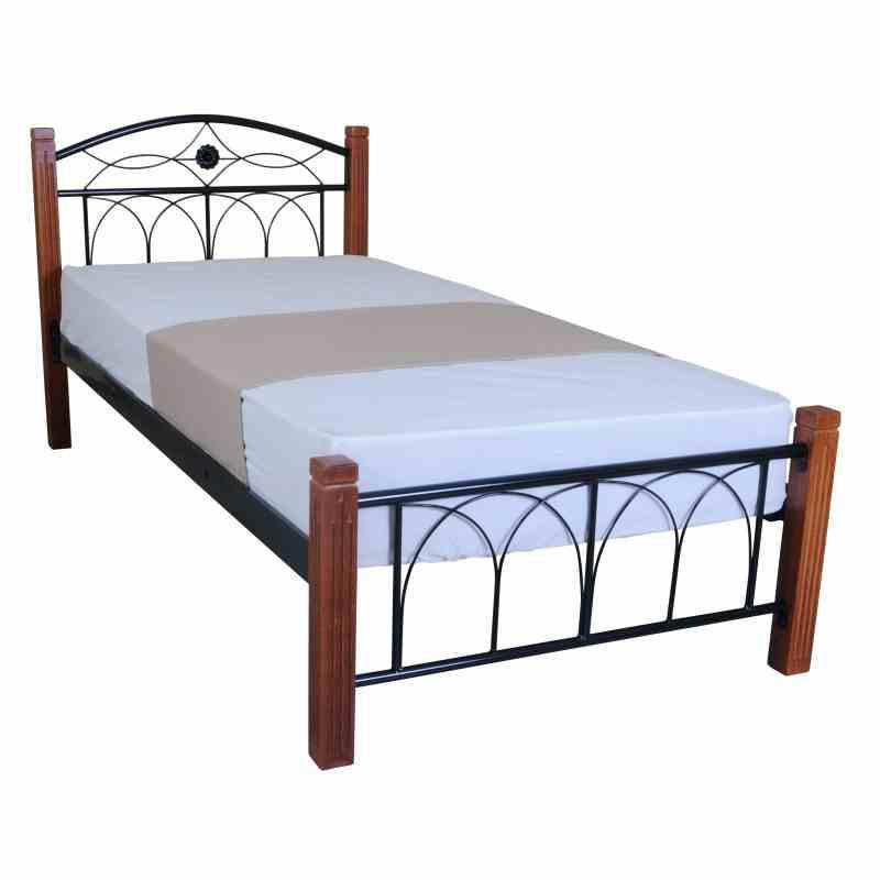 Односпальне ліжко RUAN 900x2000 black 3