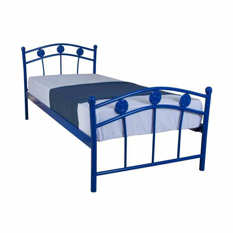 Дитяче односпальне ліжко Eagle SMART 900х2000 blue 2