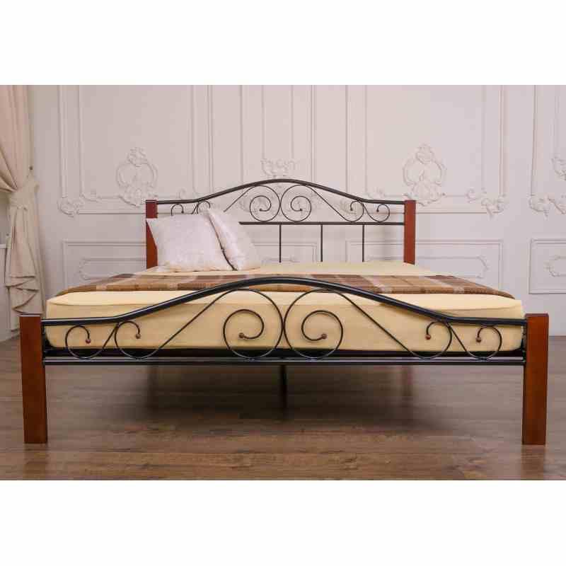 Двоспальне ліжко VEDERI 1400x2000 black 4