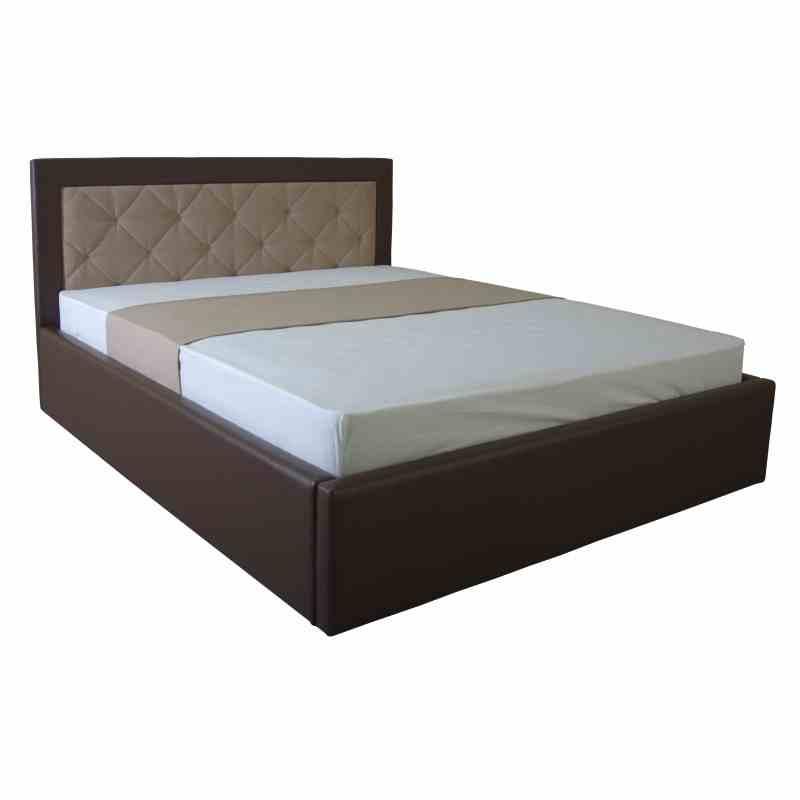Ліжко IRMA lift 1600x2000 beige/brown 3