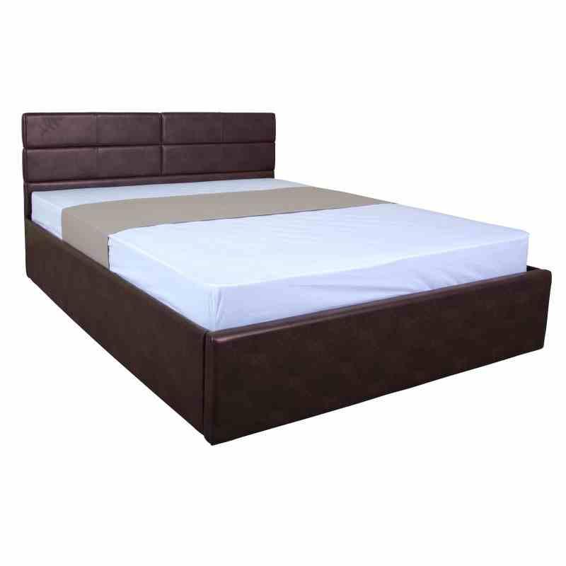 Двоспальне ліжко LAGUNA lift 1600x2000 brown 4