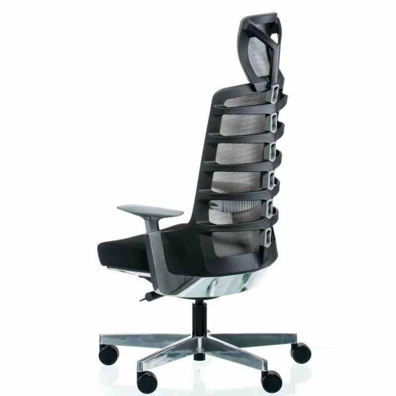Крісло SPINELLY BLACK/METALLIC 2