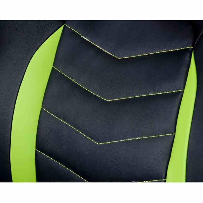 Крісло Nitro Black/Green 8