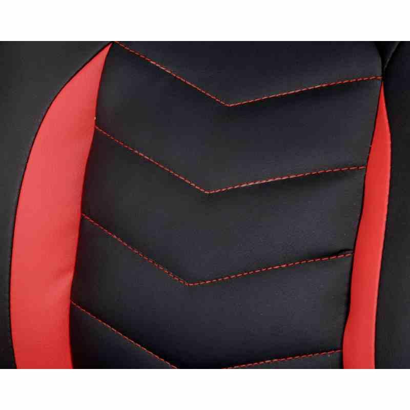 Крісло Nitro Black/Red 8